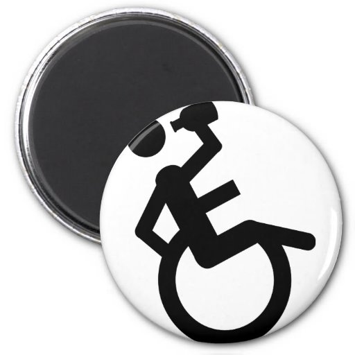 wheelchair boozer wheel chair magnets