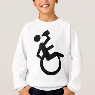 wheelchair boozer wheel chair sweatshirt