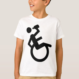 wheelchair boozer wheel chair T-Shirt