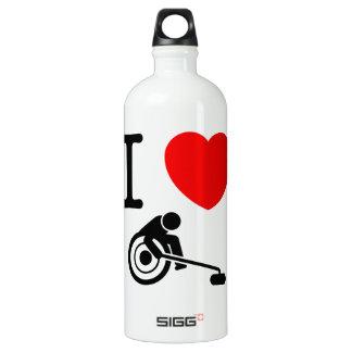 Wheelchair Curling Aluminum Water Bottle