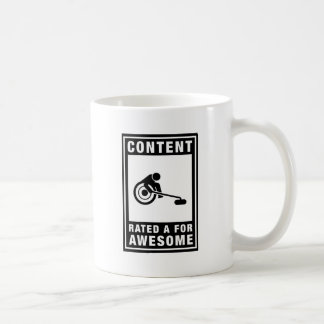 Wheelchair Curling Coffee Mug