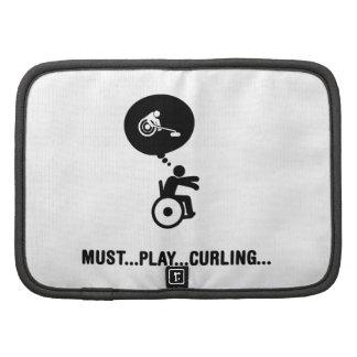 Wheelchair Curling Folio Planner