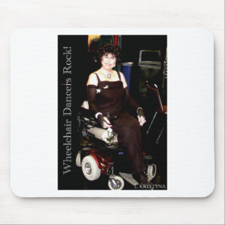 WHEELCHAIR DANCER 2 MOUSE PAD