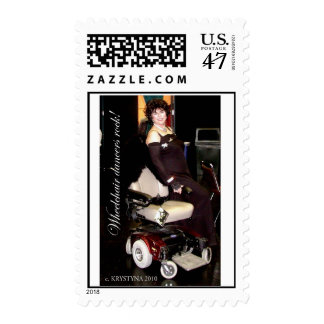 WHEELCHAIR DANCING POSTAGE