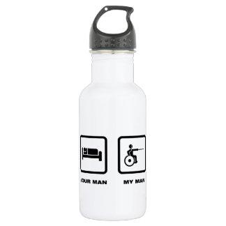 Wheelchair Fencing 18oz Water Bottle