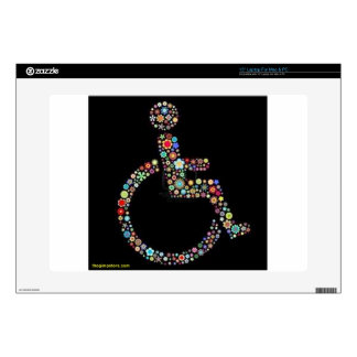 wheelchair_funky_zazzle.jpeg decal for laptop