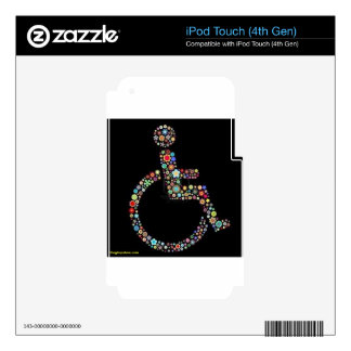 wheelchair_funky_zazzle.jpeg iPod touch 4G skins