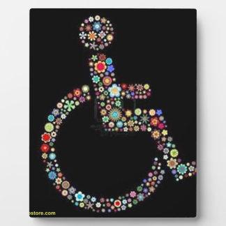 wheelchair_funky_zazzle.jpeg plaque