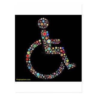 wheelchair_funky_zazzle.jpeg post card