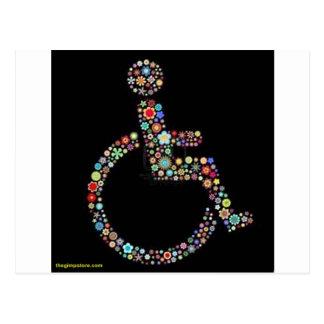 wheelchair_funky_zazzle.jpeg postcards