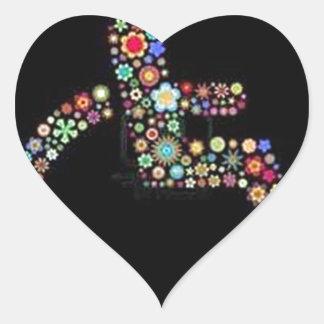 wheelchair_funky_zazzle.jpeg heart sticker