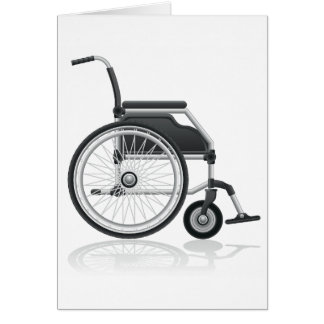Wheelchair Greeting Cards