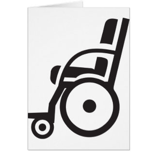 Wheelchair Icon Invitations