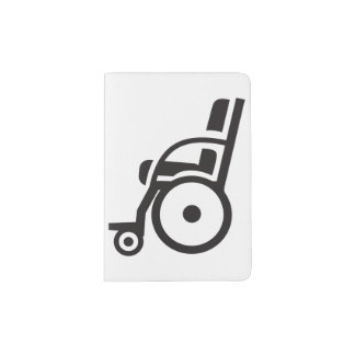 Wheelchair Icon Passport Holder