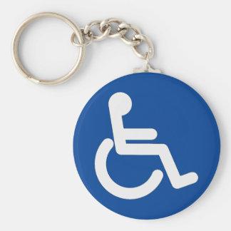 Wheelchair Keychain