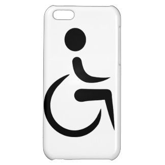 Wheelchair logo cover for iPhone 5C