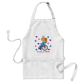 Wheelchair Princess Adult Apron
