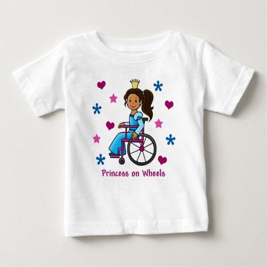Wheelchair Princess Baby T-Shirt