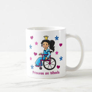 Wheelchair Princess Coffee Mug