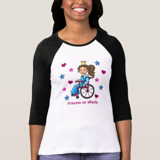 Wheelchair Princess Tee Shirt