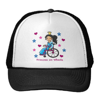 Wheelchair Princess Trucker Hat