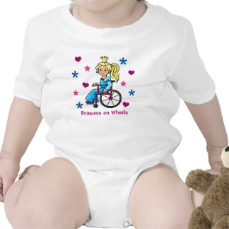 Wheelchair Princess Romper