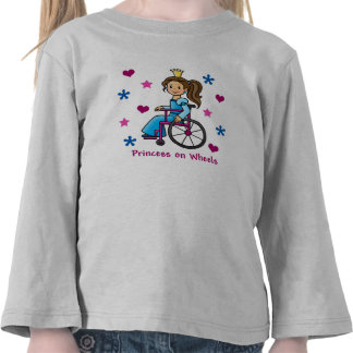 Wheelchair Princess T Shirt
