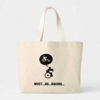 Wheelchair Racing Canvas Bags