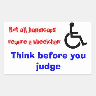 wheelchair stickers