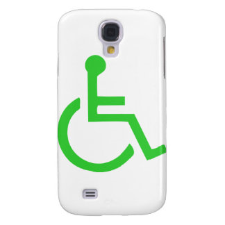Wheelchair Symbol Galaxy S4 Cover