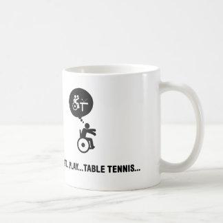 Wheelchair Table Tennis Coffee Mug