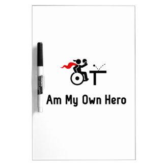 Wheelchair Table Tennis Hero Dry-Erase Board