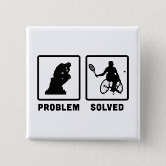 Wheelchair Tennis Button
