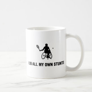 Wheelchair Tennis Classic White Coffee Mug
