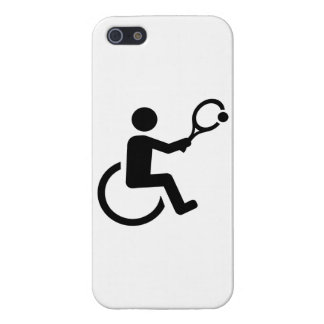 Wheelchair tennis cover for iPhone SE/5/5s