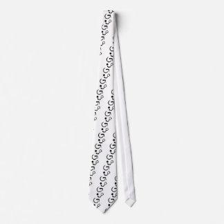 Wheelchair tennis neck tie