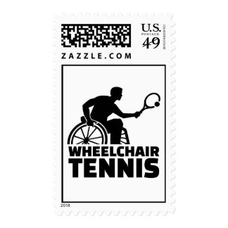 Wheelchair tennis postage