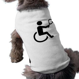 Wheelchair tennis shirt