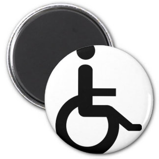 wheelchair user magnet