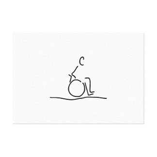Wheelchair user wheelchair obstructs