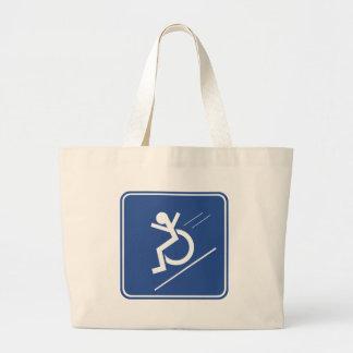 Wheelchair Whee! Canvas Bag