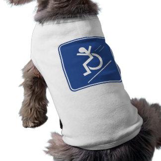 Wheelchair Whee! Doggie T Shirt
