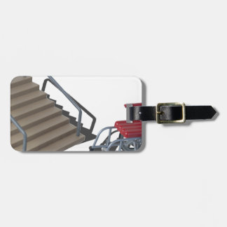 WheelchairAndStairs080214 copy Bag Tag