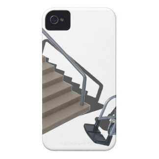 WheelchairAndStairs080214 copy iPhone 4 Cover
