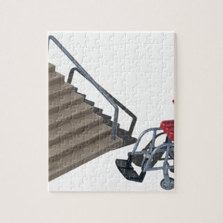 WheelchairAndStairs080214 copy Jigsaw Puzzle