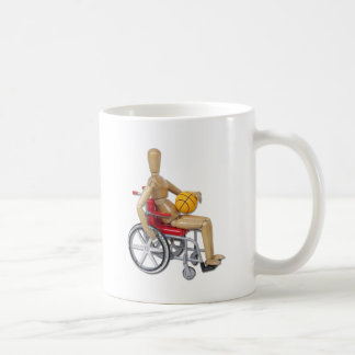 WheelchairBasketball Classic White Coffee Mug