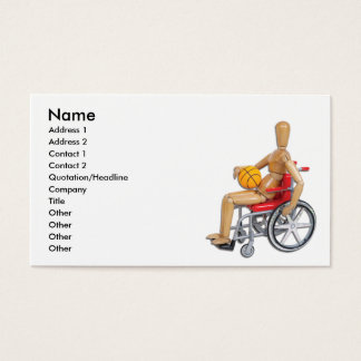 WheelchairBasketball, Name, Address 1, Address ... Business Card