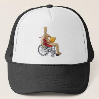 WheelchairBasketball Trucker Hat