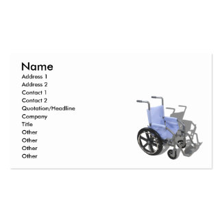 WheelchairBlueSeat073110, nombre, dirección 1, Add Plantillas De Tarjetas De Visita
