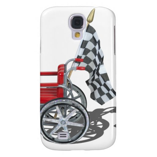 WheelchairCheckeredFlag090912.png Samsung Galaxy S4 Cover